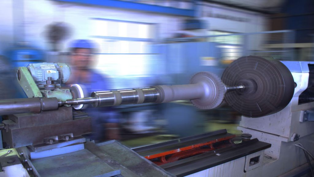 Turbocharger Shaft Machining on Lathe