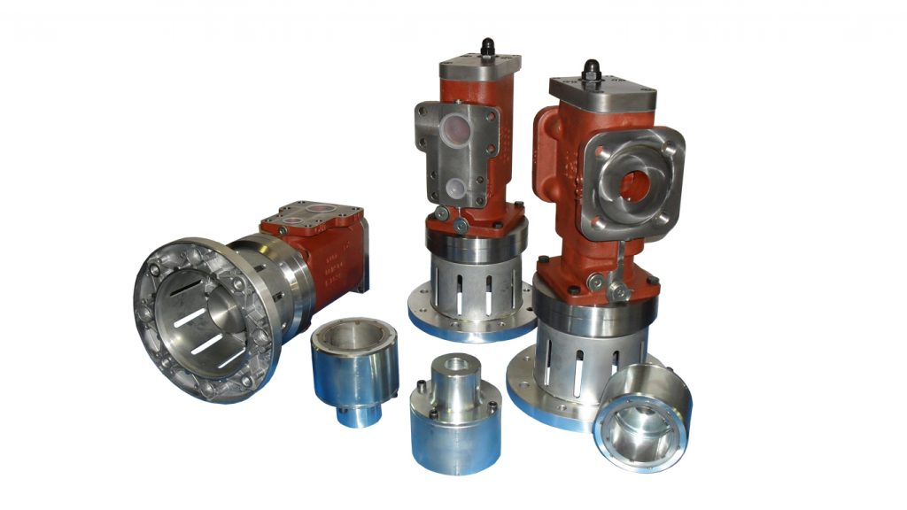 Screw pump components