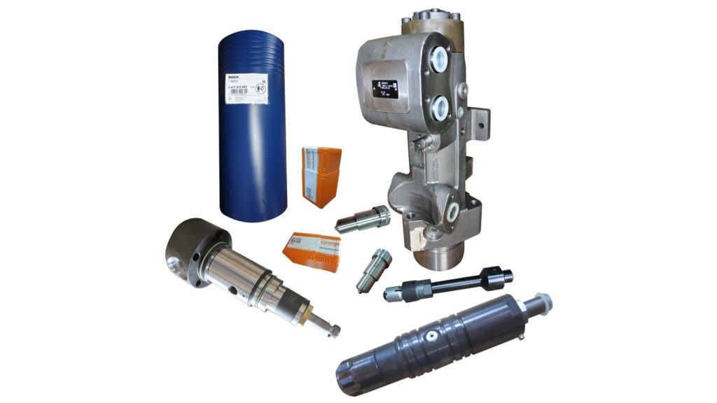 MaK M25 Fuel Injection Equipment