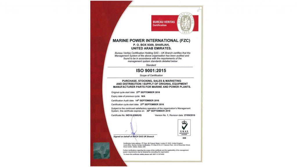 MPI ISO 9001-2015